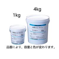 水性床用蛍光塗料 イエロー 1.0kg