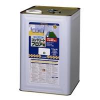 コンクリートフロア用塗料 水性 ライトグレー 14kg