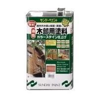 木部用塗料 油性 透明 3.4L