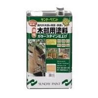 木部用塗料 油性 チーク 3.4L