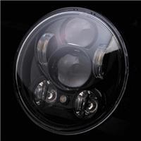 ジュエルLED ヘッドランプ ブラック ハーレー5.75インチ
