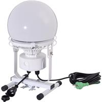 連結LED投光器 ディスクボール100W 床スタンド式 昼白色