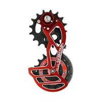 RD3-X66S-C Rear Derailleur Cage レッド(ロゴ:レッド)