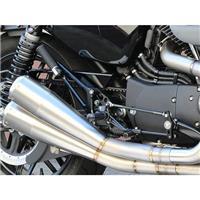 バックステップキット BLK タンデム有 XL1200/883 ABS 14-