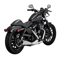 UPSWEEP 2-INTO-1 CHROME SPORTSTER MID CONT 04-19