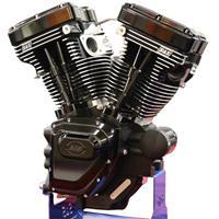 V111 エンジンASSY POLISHED BIG TWIN 84-99