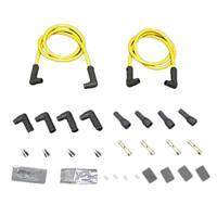 012078 ツインプラグコード 黄8.8mm 汎用 90°キャップ