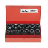 14241M 1/2(12.7mm)SQ. インパクトソケットセット 13ヶ組