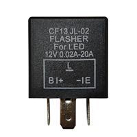 LEDウインカー専用フラッシャーリレー 3ピン式 固定式