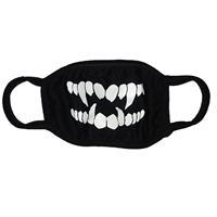ファッションマスク 蓄光タイプ Fang・牙