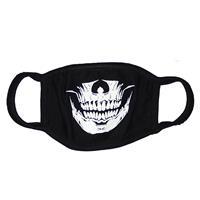 ファッションマスク 蓄光タイプ スカル KZ0609