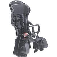 RBC-015DX ヘッドレスト付カジュアルうしろ子供のせ 黒・黒