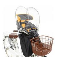 RCF-003 前幼児座席用レインカバー ハレーロ・ミニ ブラック
