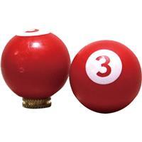 8ボールバルブキャップ(2ケ入) レッド