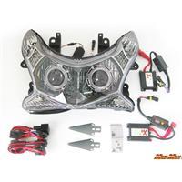 PCX125/150 プロジェクターヘッドライト ブルー/レッド