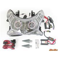 PCX125/150 プロジェクターヘッドライト レッド/ブルー