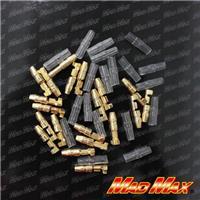 MM50-0221-1 圧着ギボシ端子 オス 絶縁スリーブ 20個SET