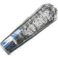 ダイヤカットシフトノブ 10×1.25 泡/クリア 150mm
