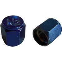 N2用メタルキャップ ブルー