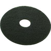 床洗浄用ディスクパッド ワックス表層剥離用 ブラウン 432mm 5枚入