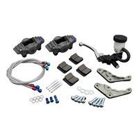 STDディスクローター対応 フロントキャリパーキット CP2696 2ピストン マスターシリンダー付き