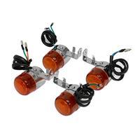 汎用ウィンカー 12V オレンジ
