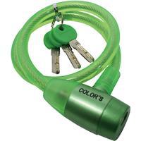 G-220W ワイヤー錠 グリーン