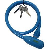 G-222W ワイヤー錠 ブルー