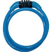 ダイヤルワイヤー錠 JC-029W ブルー