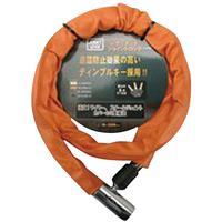 ジョイントワイヤー錠 JC-024 オレンジ