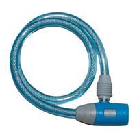 ワイヤー錠 JC-020W-600 ブルー