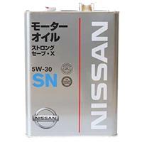 日産 ストロングセーブX SN 5W-30 4L