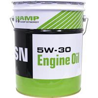 【純正部品】HAMP(ハンプ)4サイクルオイル SN 5W-30 20L