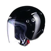 RAZZOIII エクストリーム ジェットヘルメット ブラック S