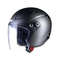 RAZZOIII エクストリーム ジェットヘルメット スモーキーシルバー L