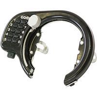 GR-500V プッシュ式リング錠 ブラック
