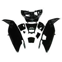 PCX JF28 塗装済インナーカウル 9点セット ブラック