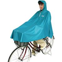 D-3POOK 自転車屋さんのポンチョ ターコイズ