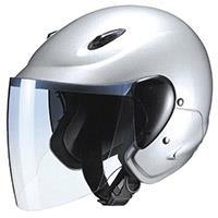 セミジェットヘルメット M-510 フリー シルバー
