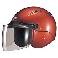 セミジェットヘルメット M-204 フリー キャンディレッド