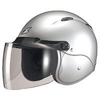 セミジェットヘルメット M-204 フリー シルバー