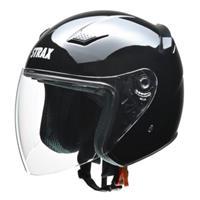 SJ-8 ジェットヘルメット ブラック L