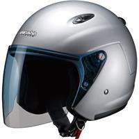 ジェットヘルメット M-400 フリー シルバー