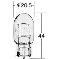 【1個売り】1881 12V21W W3×16d クリア