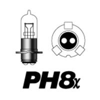 89SS PH8x 12V35/30W B2ホワイトステルス