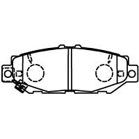 MD074M ブレーキパッド