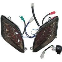 シグナスX/SR SE44J LEDポジションウィンカーライト スモーク/ブルー