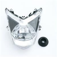 シグナスX/SR SE44J/E3B1E LEDヘッドライト クリア/ホワイト