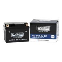 【1個売り】GL-PTX4L-BS (YTX4L-BS、FTH4L-BS 互換)(ジェルタイプ 液入充電済)