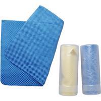 超吸水セームタオル Sサイズ ブルー